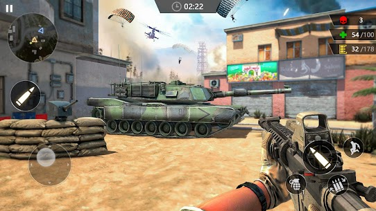 Gun Strike: Modern 3D FPS – Offline Shooting Game MOD APK 2