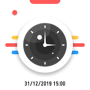 Timestamp camera Auto Datetime Stamper 1.3.2 by Susamp Apps logo