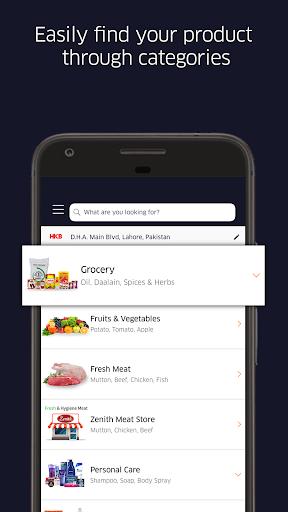 GrocerApp - Online Grocery Delivery  screenshots 1