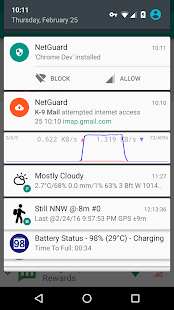 NetGuard - no-root firewall Screenshot