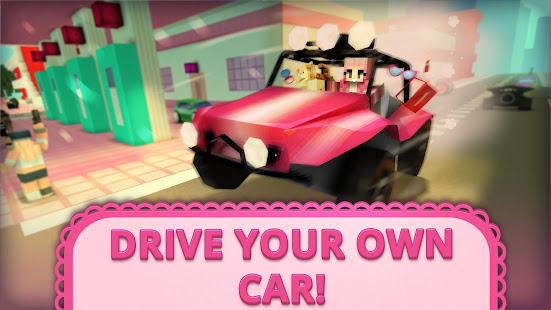 Girls Car Craft GO Parking Awesome Games For Girls