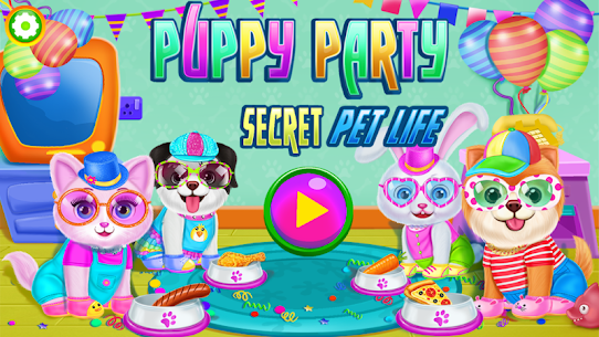 Puppy Party 🐶 Secret Pet Life Day Care Dog Games 1