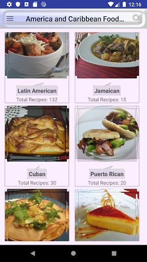 ufeffAmerica and Caribbean Food Recipes 2.0 screenshots 1