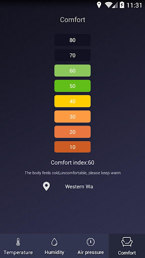Thermometer - Hygrometer & Ambient Temperature app 1.9 Screenshots 4