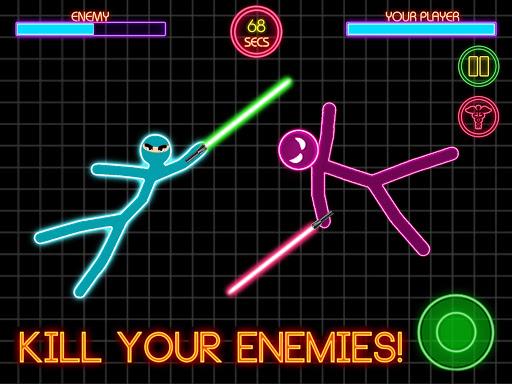 Stickman Fighting: 2 Player Funny Physics Games  screenshots 2