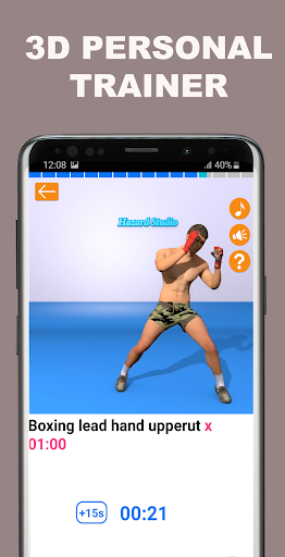 Kickboxing Fitness Trainer - Lose Weight At Home  Screenshots 16