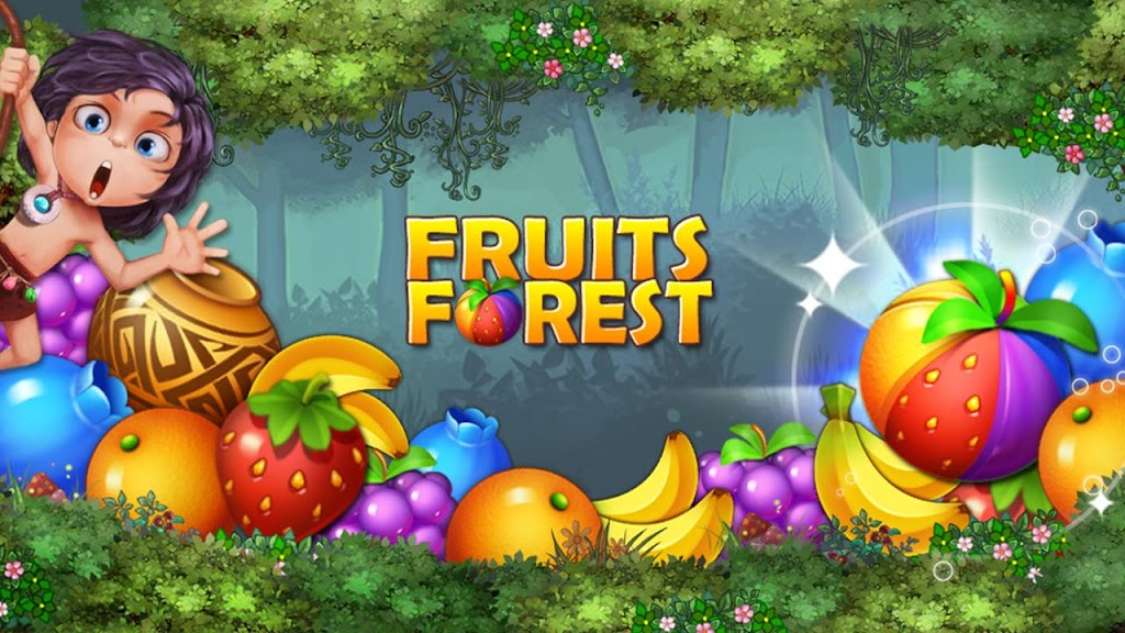 Fruits Forest : Rainbow Apple poster 1
