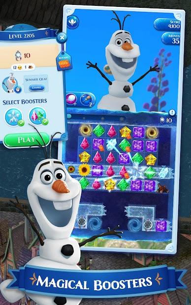 Disney Frozen Free Fall - Play Frozen Puzzle Games screenshot 4