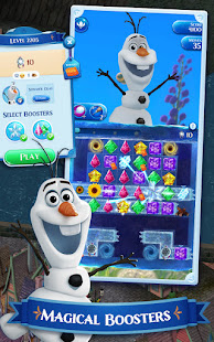 Disney Frozen Free Fall - Play Frozen Puzzle Games Unlimited Money