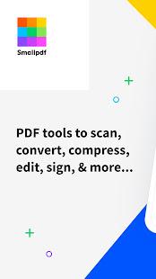 Smallpdf—Scan PDF, convert, compress, edit, & sign