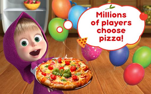 Masha and the Bear Pizzeria Game! Pizza Maker Game  screenshots 9