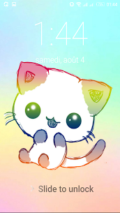 Kawaii Cat Lock Screen For Pc (Download On Computer & Laptop) 2