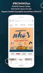 ROMWE -Online Fashion Store Apk 4
