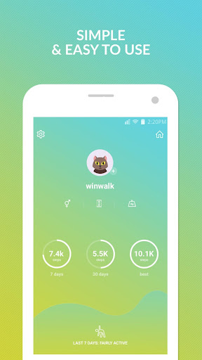 Pedometer winwalk - walk, sweat & win egift cards  Screenshots 4