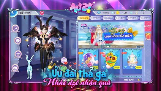 Au 2 Mod Apk- Chuẩn Audition Mobile (Auto Dances/Move Speed Multiplier) 5