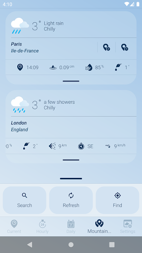 How is the Weather - Different, Simple & No Ads v17_24.01 Screenshots 5