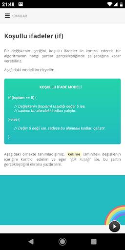 Kodlama: Çocuklar için Programlama Eğitimi, Oyunu 1.7.0 screenshots 2