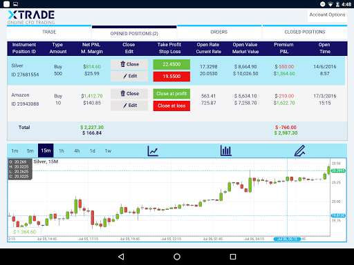 Xtrade - Online Trading modavailable screenshots 8