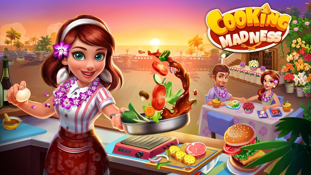 Cooking Madness - A Chef's Restaurant Games poster 8
