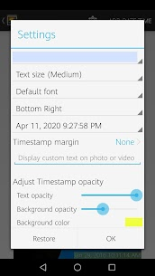 Timestamp Photo and Video v1.28 [Paid] 5