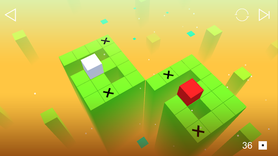 Roll the Box Puzzle Screenshot
