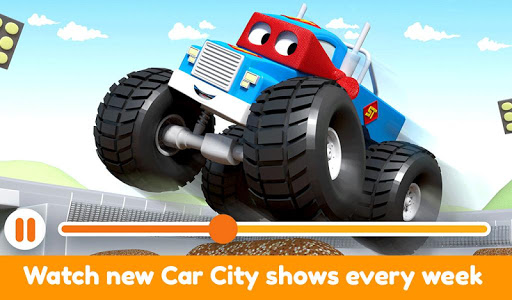 Car City World: Little Kids Play Watch TV & Learn modavailable screenshots 7