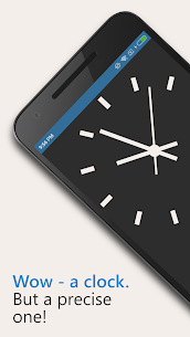 AtomicClock — NTP Time (with widget) Mod Apk (Pro  Unlocked) 1