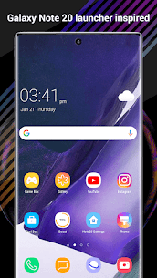 Perfect Note20 Launcher Mod Apk for Galaxy Note,Galaxy S A (Premium Unlocked) 1