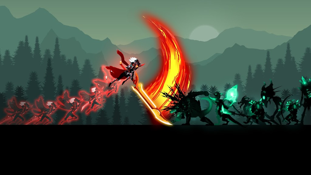 Stickman Legends: Shadow War Offline Fighting Game poster 16