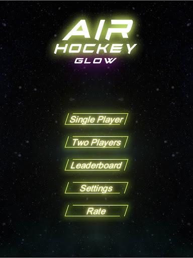 Air Hockey Glow HD screenshots 23