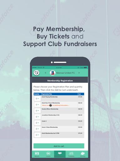 clubforce - managing member data screenshot 3