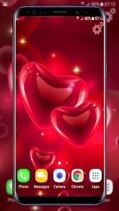 Hearts Live Wallpaper 4