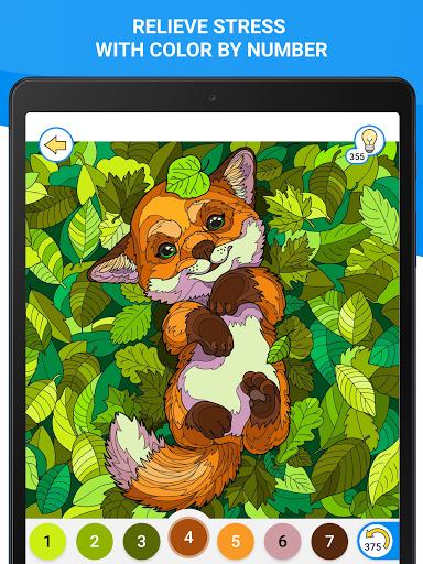 Happy Canvasu2122 - Color by Number Book 2.1.2 screenshots 13