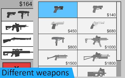 Flat Zombies: Defense & Cleanup Mod Apk 1.9.3 (Unlimited Money) 3