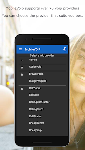 MobileVOIP Cheap international Calls MOD APK (Unlimited Credits) 3