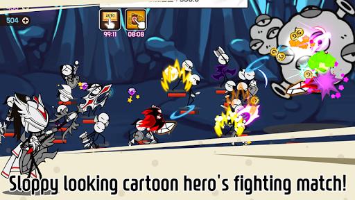 Legend of the cartoon - idle RPG 2.7 screenshots 2