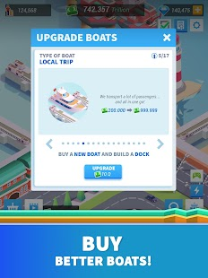Idle Harbor Tycoon - Incremental Clicker Game Screenshot