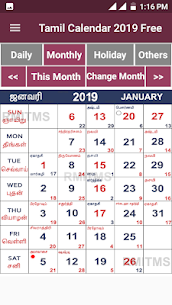 Tamil Calendar 2019 Free For Pc – Download On Windows 7/8/10 And Mac Os 2