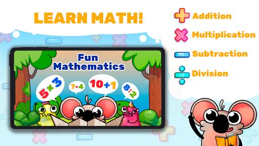 Fun Math: master math facts in cool game!  screenshots 1