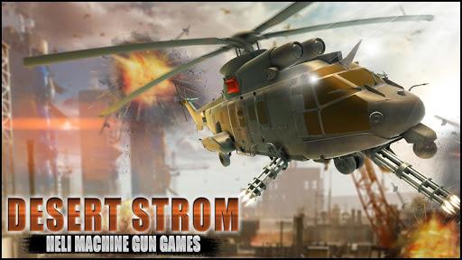desert storm heli machine gun games screenshot 2