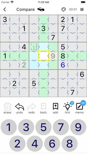 All Sudoku - 5 kinds of sudoku puzzle in one app screenshots 3
