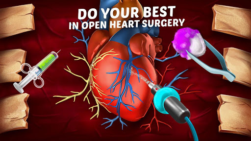Emergency Open Heart Surgery : Offline Doctor Game  screenshots 3