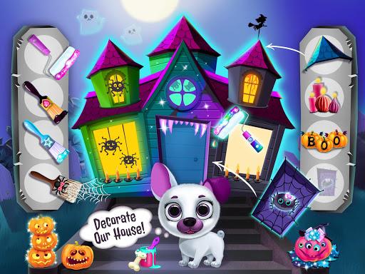 Kiki & Fifi Halloween Salon - Scary Pet Makeover  Screenshots 8
