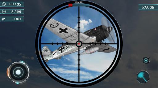 Sky war fighter jet: Airplane shooting Games 1.7 screenshots 3