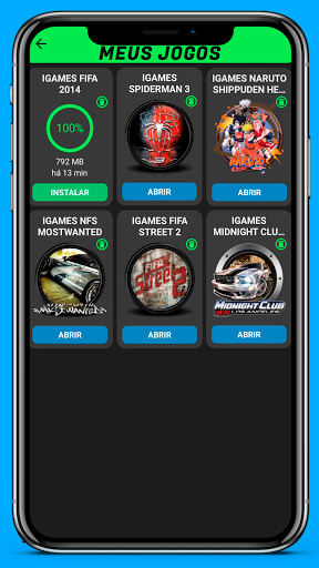 IGAMES MOBILE screen 1
