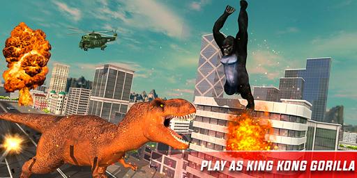 Monster Dino Vs King Kong-City Rampage Simulator 1.0.3 screenshots 13