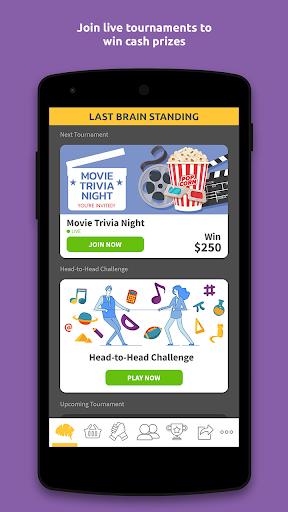 Last Brain Standing Live Trivia Tournaments  Screenshots 1