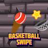 Basketball swipe game apk icon