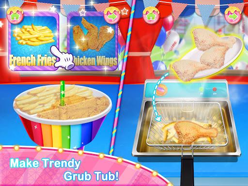 Unicorn Chef Carnival Fair Food Games for Girls 2.3 screenshots 1