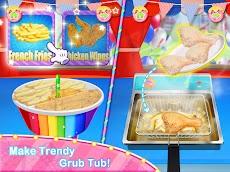 Unicorn Chef Carnival Fair Food Games for Girlsのおすすめ画像1
